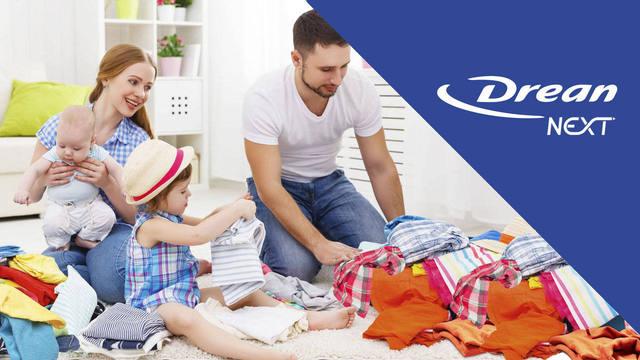 FOTO: Familias numerosas ahora podrán lavar su ropa rápido y fácil